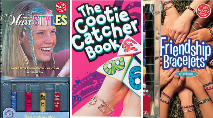 The Klutz books every '90s kid lived for