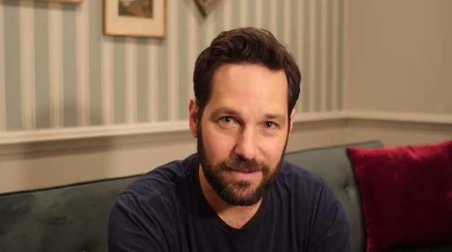 "You need to watch Paul Rudd being 100% sassy to ""Captain America"" fans"