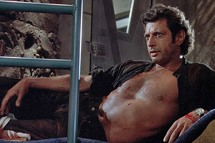 "Jeff Goldblum just gave the most bananas interview about returning for another ""Jurassic Park"" movie"