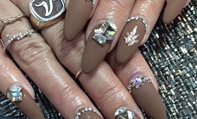 Vanessa Hudgens just got the manicure of the year for Coachella