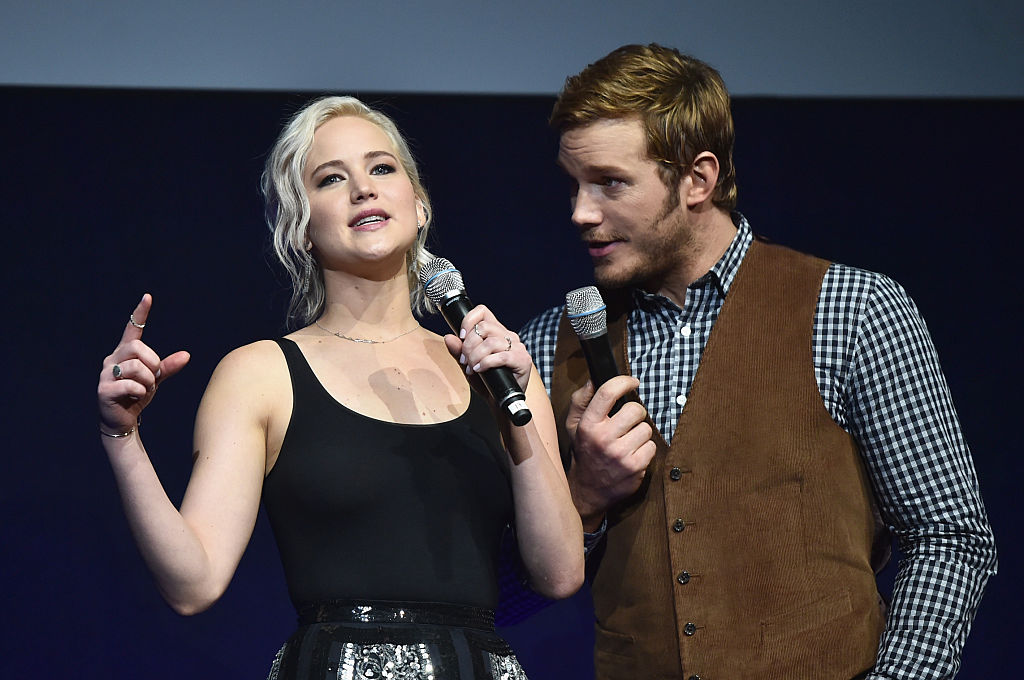 "Everything we know about Jennifer Lawrence and Chris Pratt's upcoming sexy romance in the stars, ""Passengers"""