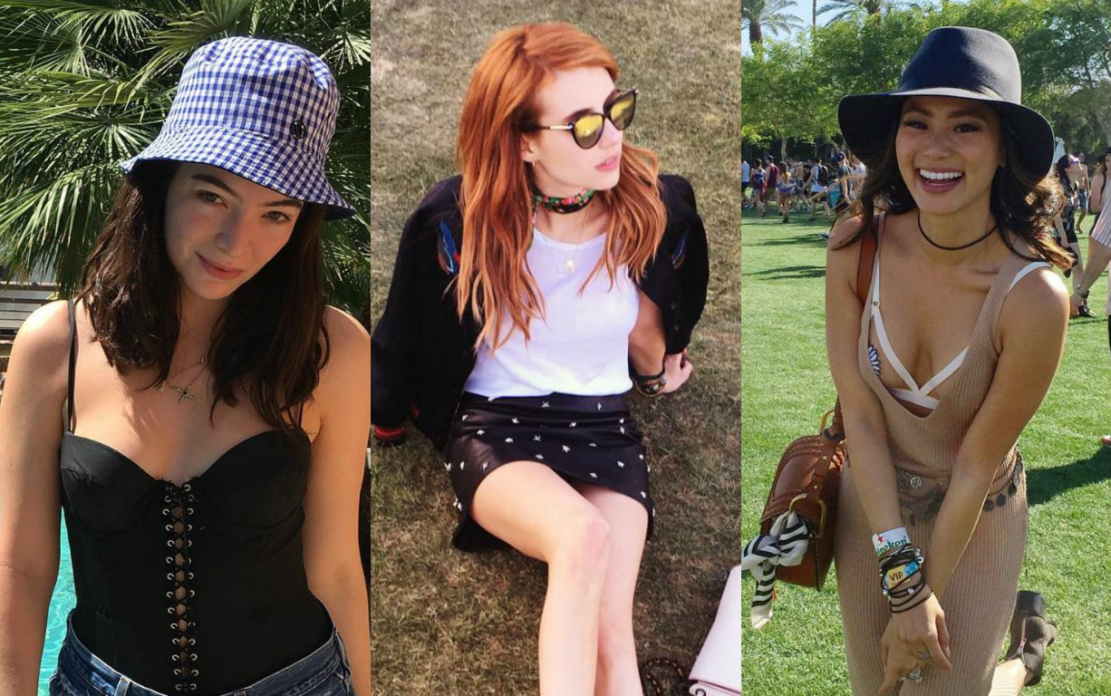 12 celebrities whose Coachella fashion ruled the desert this weekend