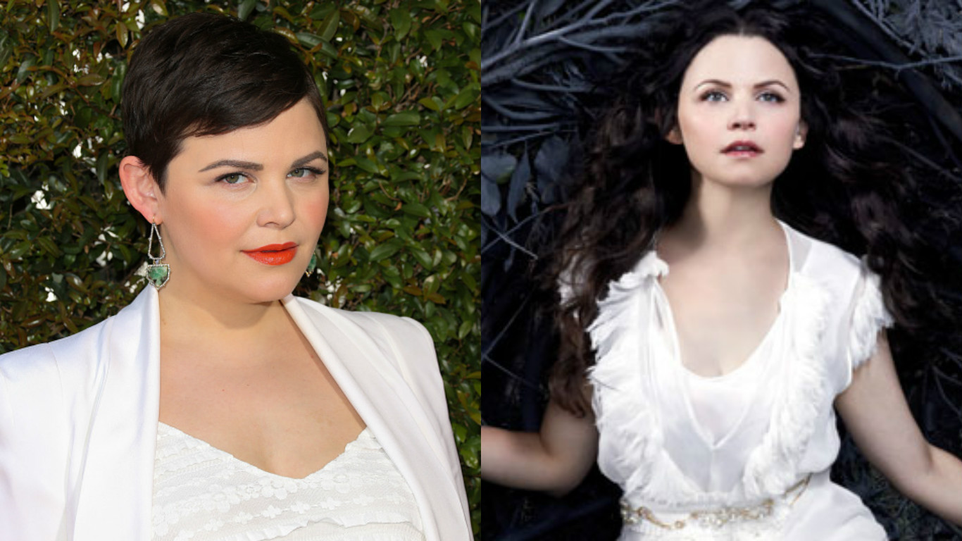 Ginnifer Goodwin's pregnancy look on the red carpet is giving us major Snow White vibes