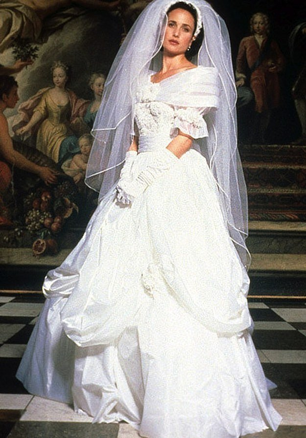 Celebrity Wedding Dresses 1990s : Iconic movie wedding dresses that will give you all the gowngoals