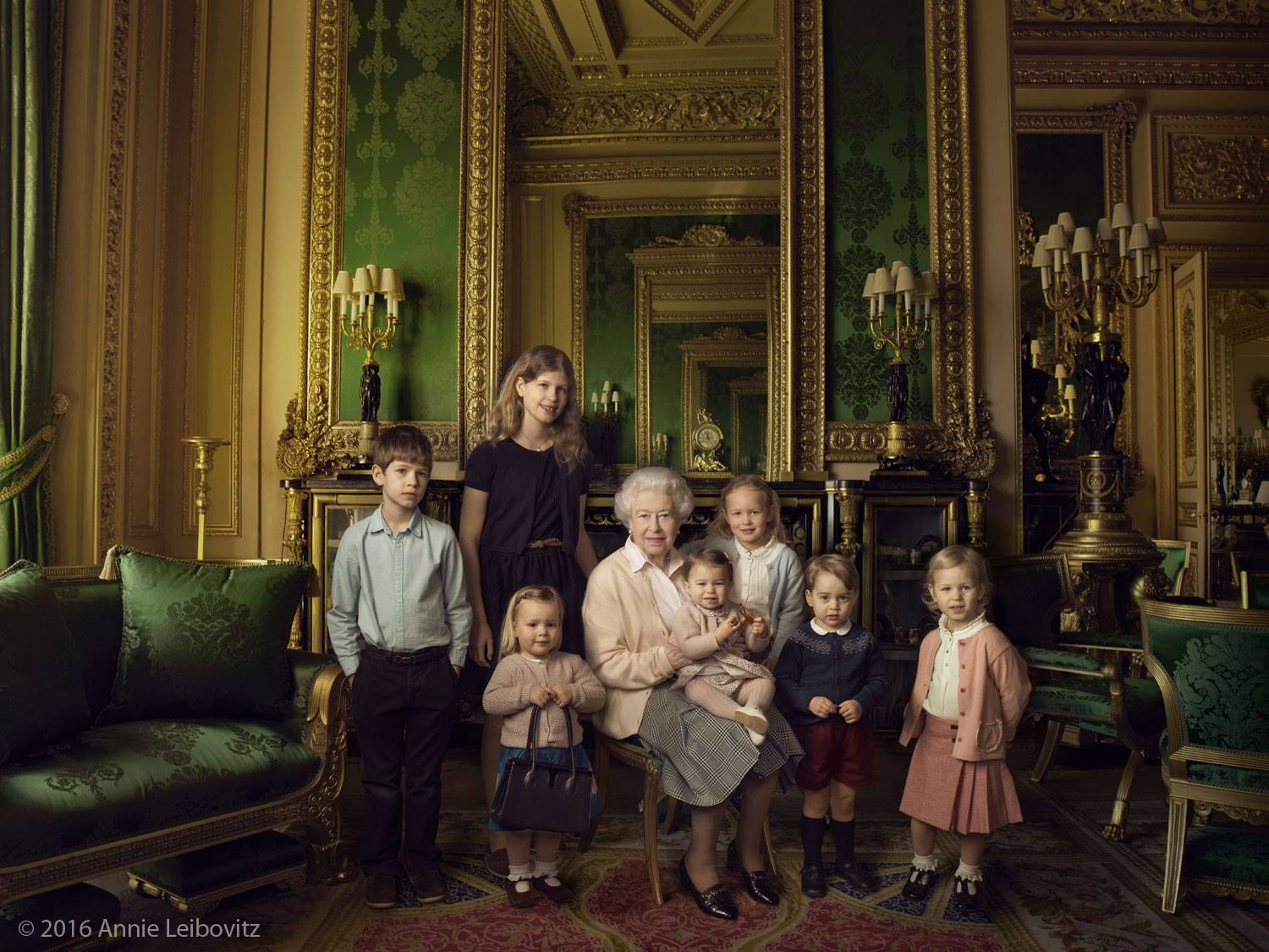 This photo of the Queen with Princess Charlotte is breathtakingly adorable
