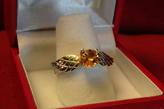 snitch ring harry potter - Harry Potter Wedding Rings