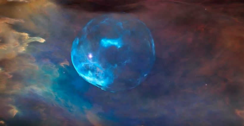 NASA just revealed that stars can blow bubbles, too