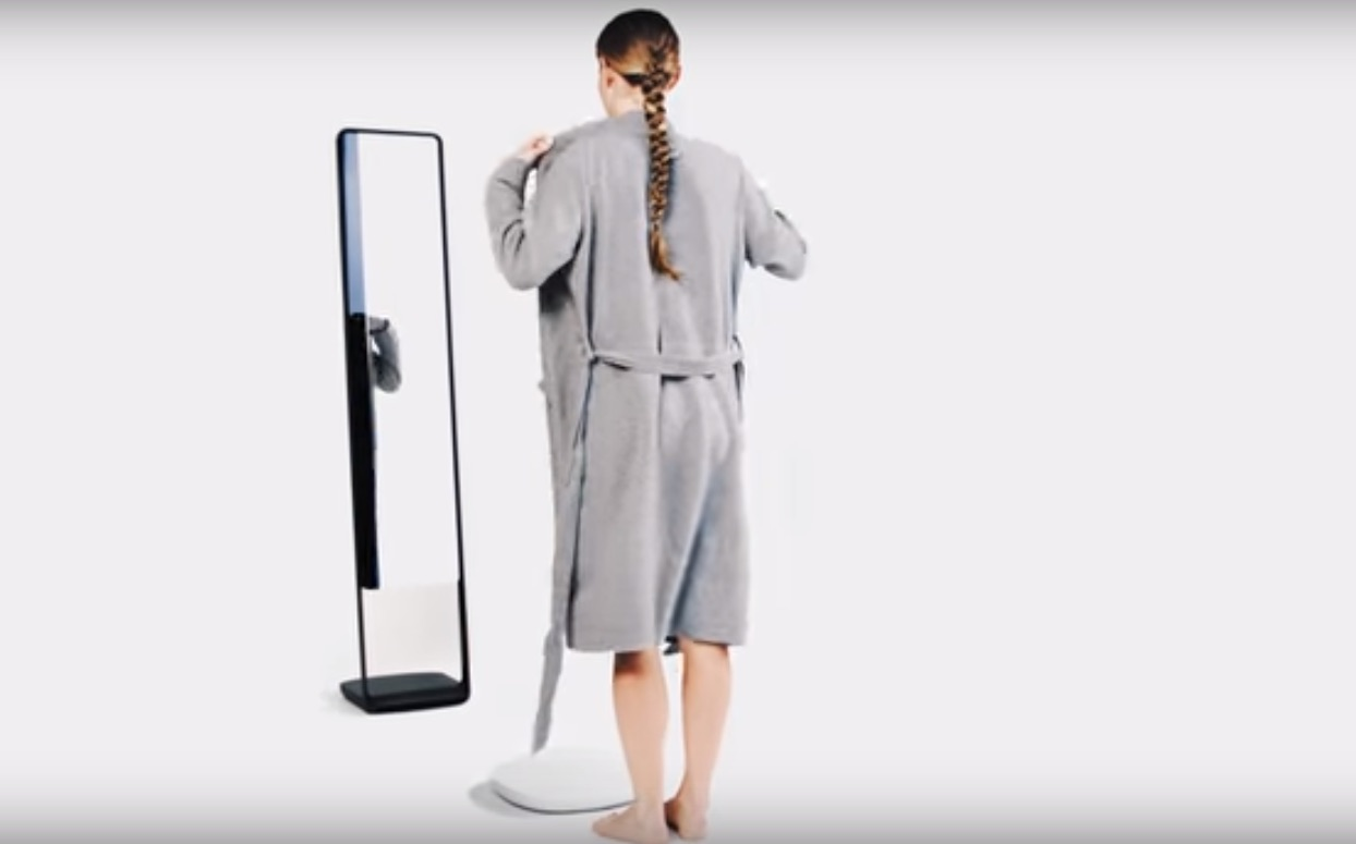 "This ""fitness-tracking mirror"" measures your body fat, but does it go too far?"