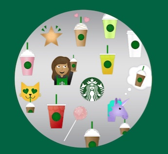 We officially have Starbucks emojis, because you can never have too much coffee