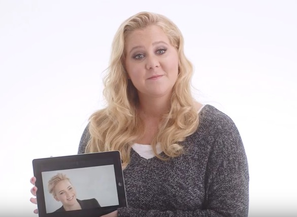 "Amy Schumer shared an endearing story about JLaw's peeing habits in her new ""Vanity Fair"" video"