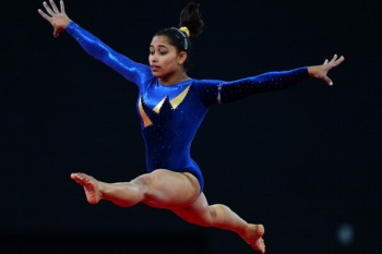 Congrats to Dipa Karmakar, the first Indian woman gymnast to ever qualify for the Olympics