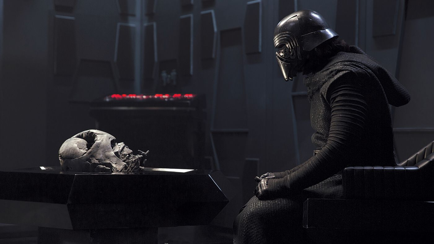 "Is THIS why Kylo Ren kept punching himself in ""The Force Awakens""?"