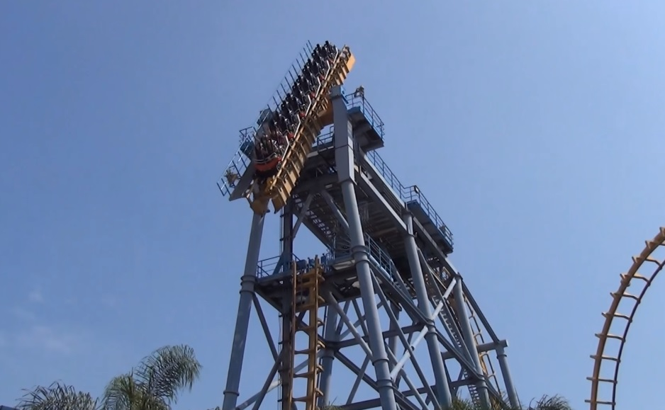 This may be the most disturbing roller coaster you'll ever see