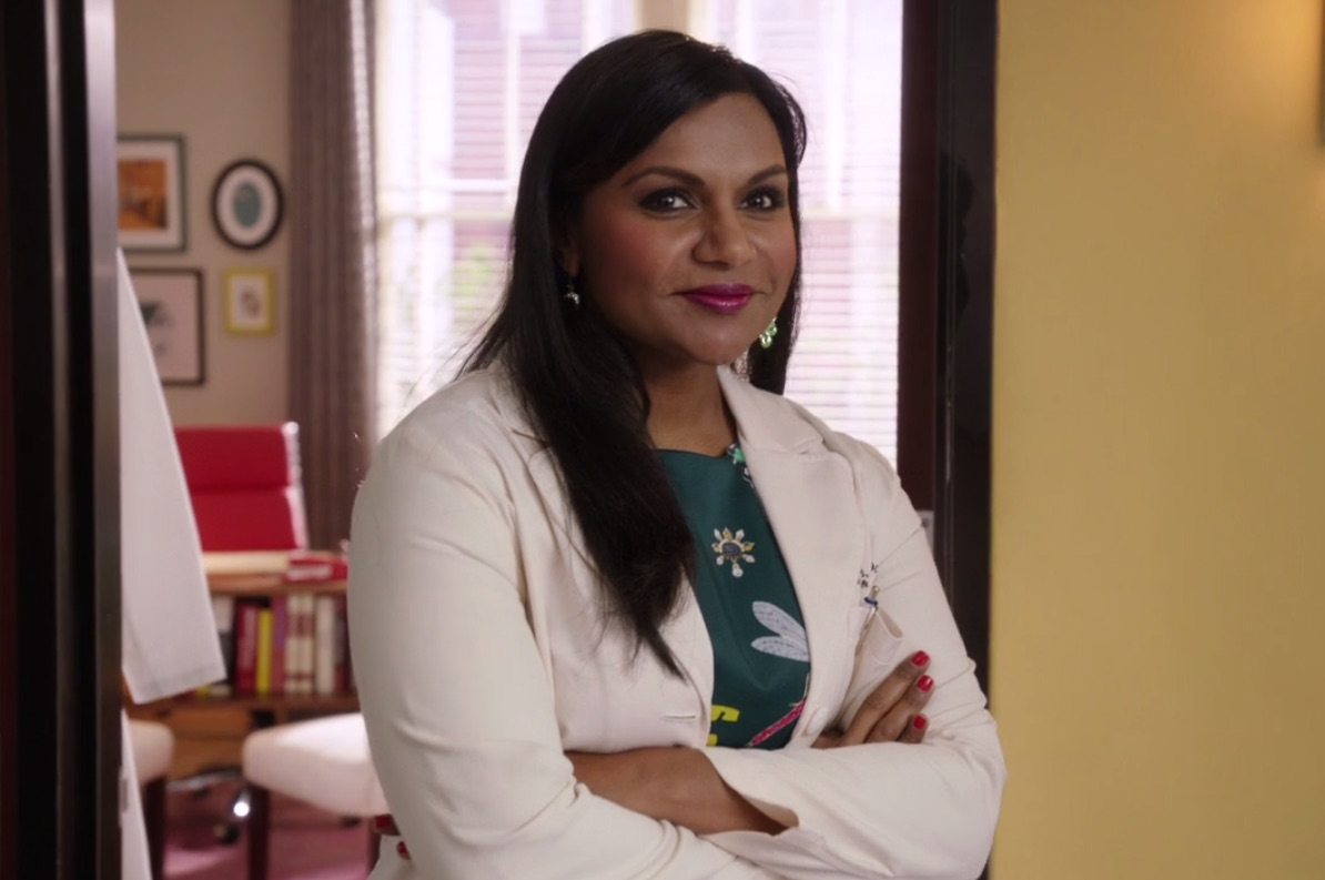 "Here's one thing you might not have noticed about Mindy Lahiri on the ""The Mindy Project"""