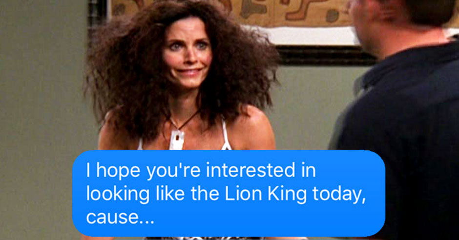 15 very rude texts your hair would send you if it could