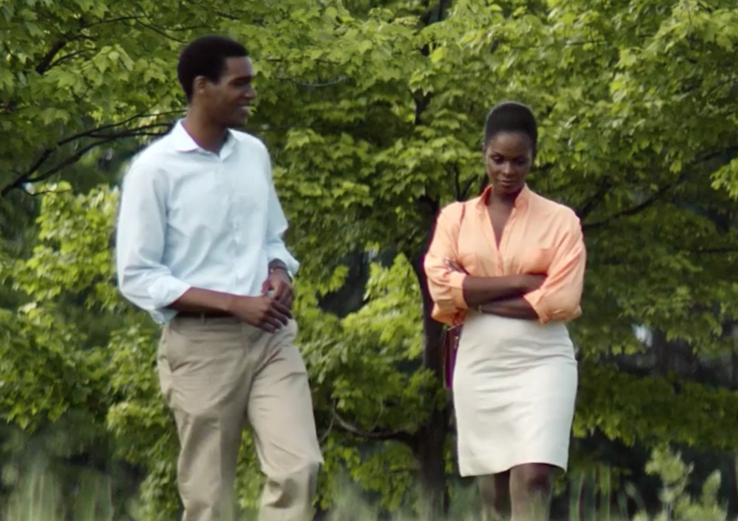 We're heart-eyes over this new movie about the Obamas' first date