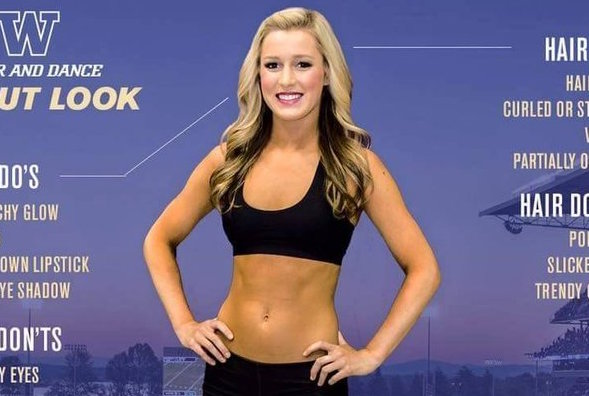 This college cheerleading tryouts poster went viral for all the wrong reasons
