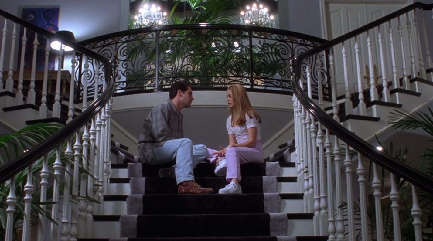 If movies have taught us anything, it's that everyone falls in love on staircases