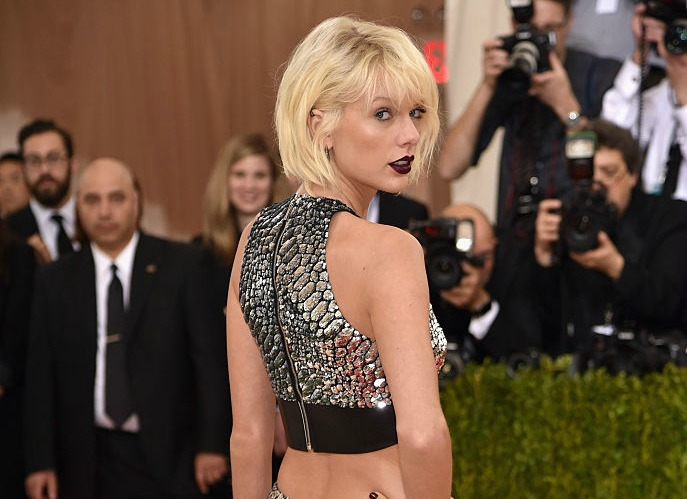 Taylor Swift's look for the Met Gala is a metallic dream