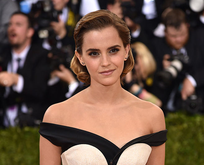 Emma Watson looks like a glamorous pirate at the Met Gala and this is our new favorite look