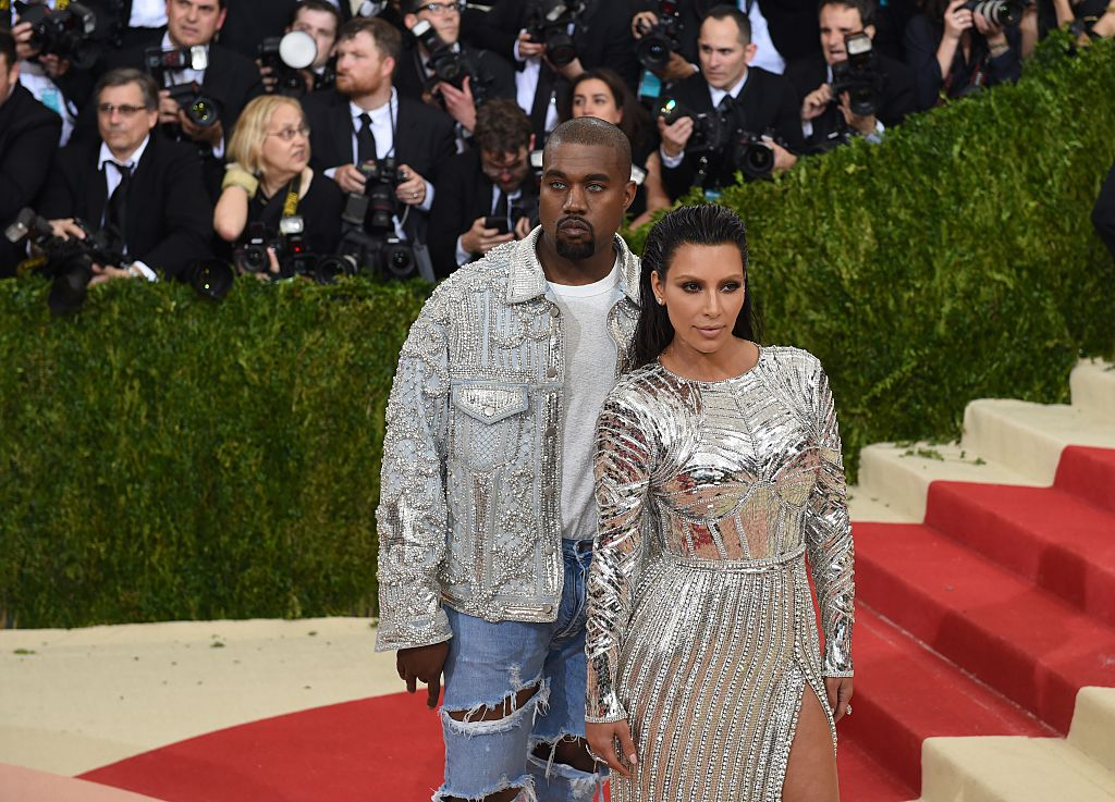 Kim and Kanye have arrived at the Met Gala, and we can't stop staring