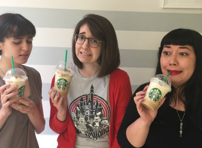 We tried Starbucks' new Caramel Waffle Cone Frappuccino, and it was INTENSE