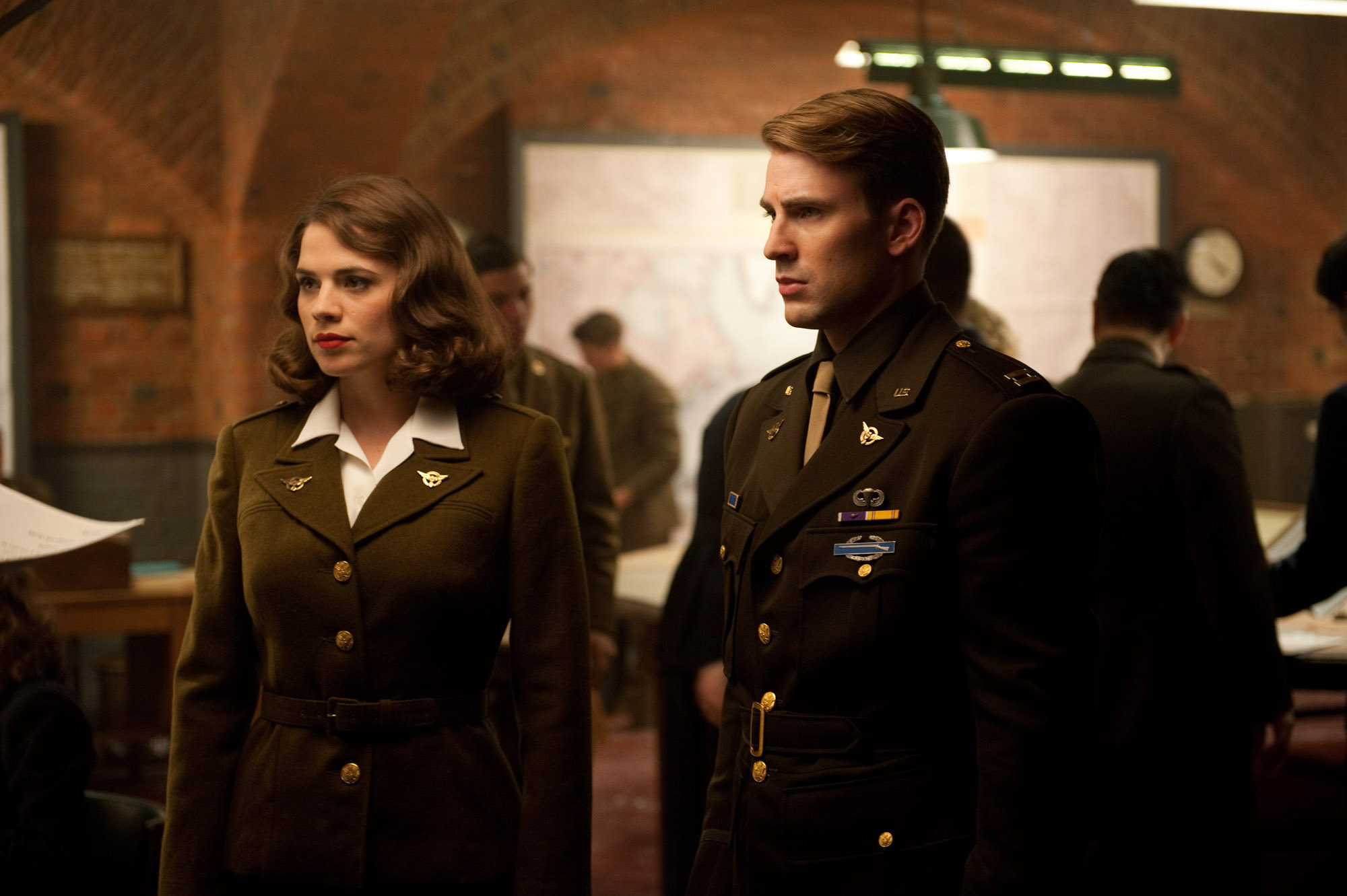 The only couple I will ever ship is Captain America and Peggy Carter