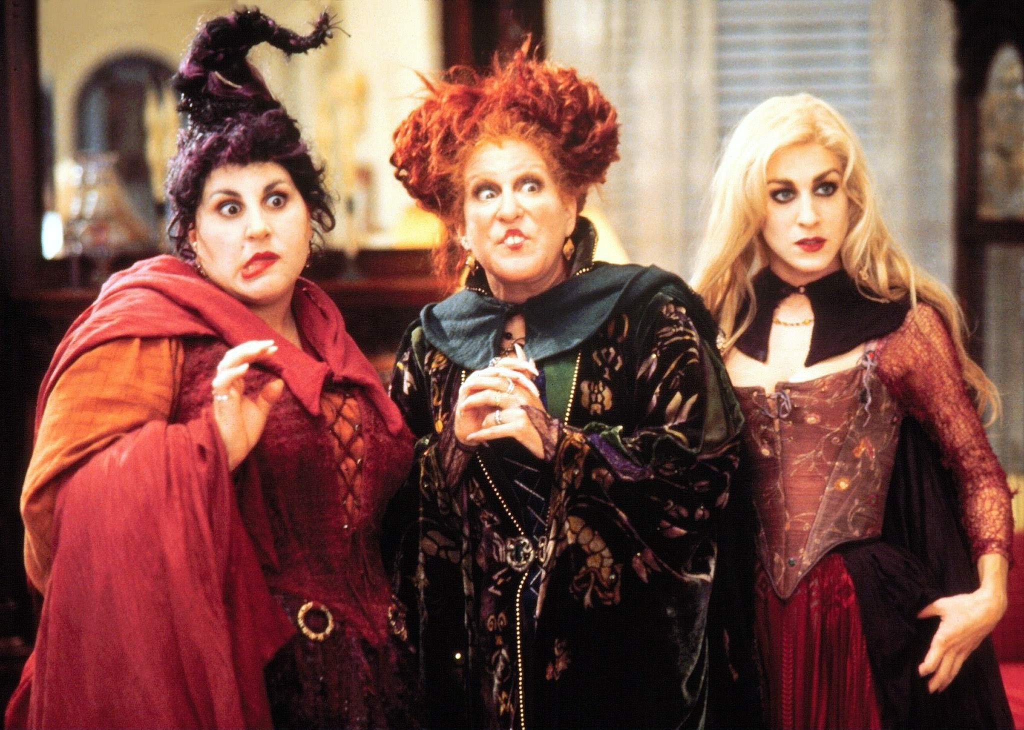 "Sarah Jessica Parker finally let us know whether there's going to be a ""Hocus Pocus"" sequel"