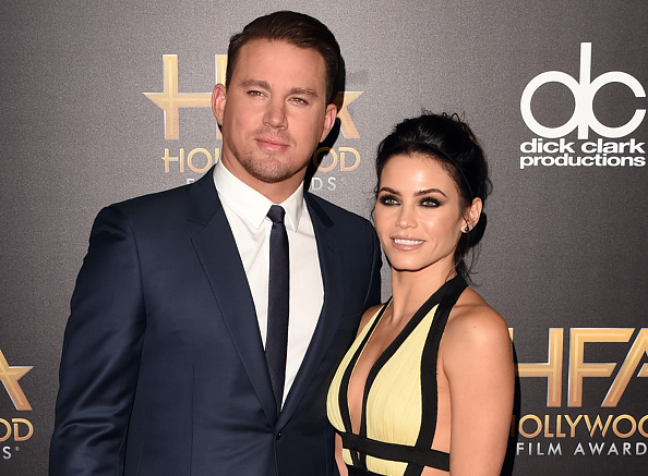 Channing Tatum giving Jenna Dewan Tatum a pedi is the only Snapchat you need to see today