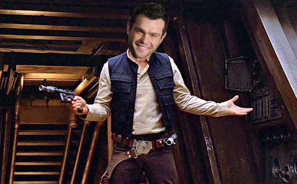 Here's what Alden Ehrenreich will look like as Han Solo, because we photoshopped him in