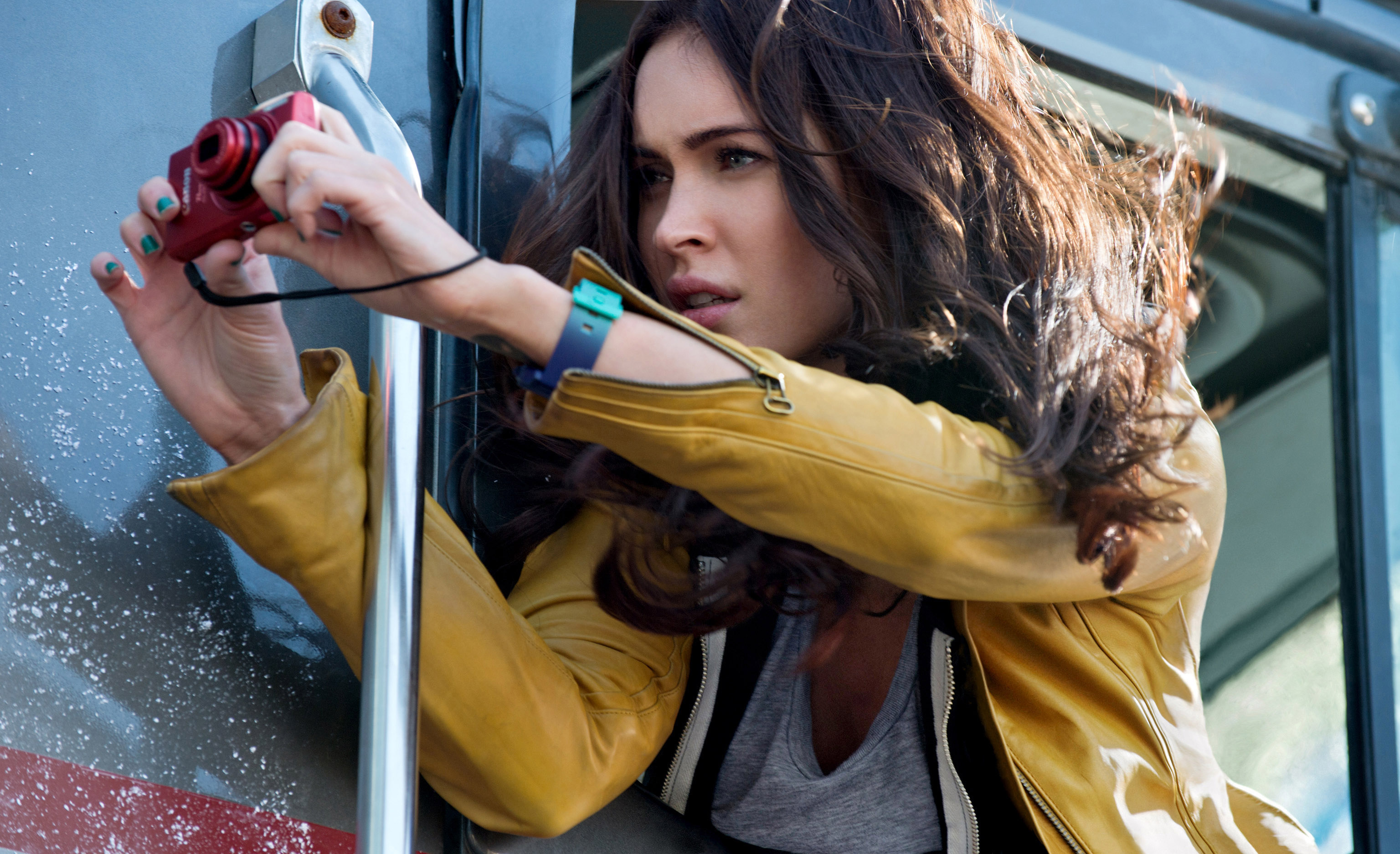 "If Hollywood ever does a gender-swapped ""Indiana Jones"" movie, Megan Fox would like dibs"