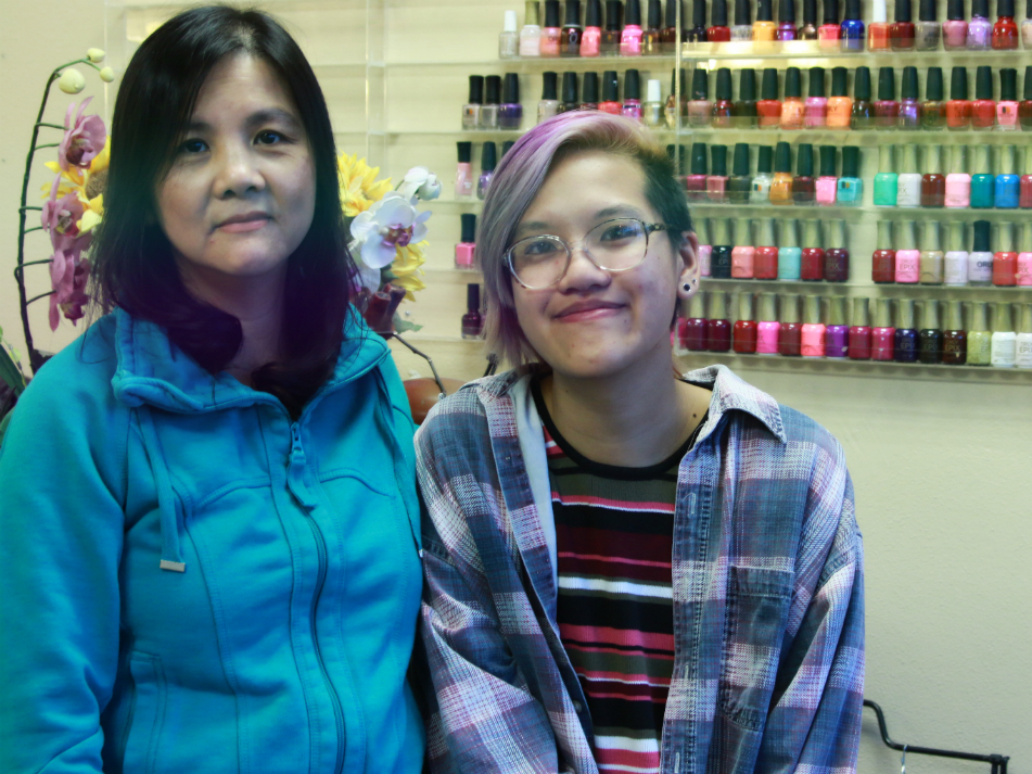 I grew up in my mother's nail salon — here's how I feel about my childhood today