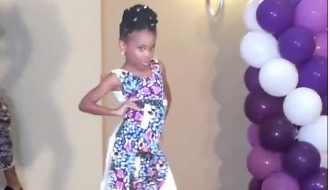 People can RELATE to this super confident little girl and her perfect sassy walk