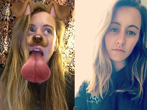 True story: I have a love/hate relationship with Snapchat filters