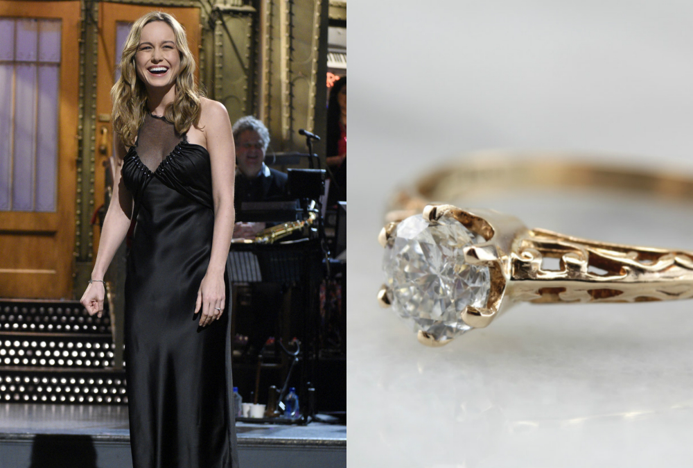 If you love Brie Larson's engagement ring, here are 10 more you will love