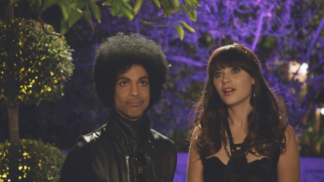 "Zooey Deschanel says Prince had some interesting requests when he was on ""New Girl"""