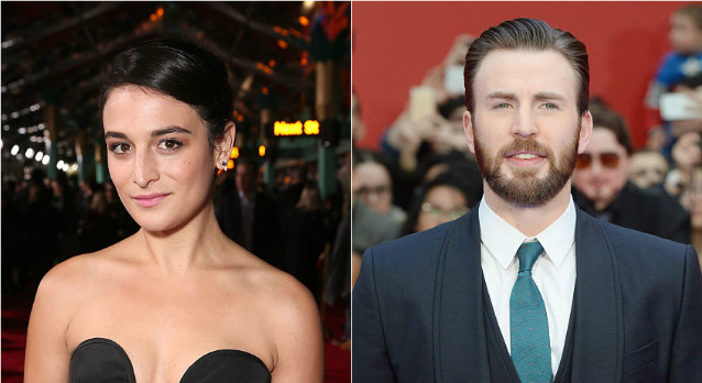 Jenny Slate and Chris Evans are probably dating which makes them our new fave power couple