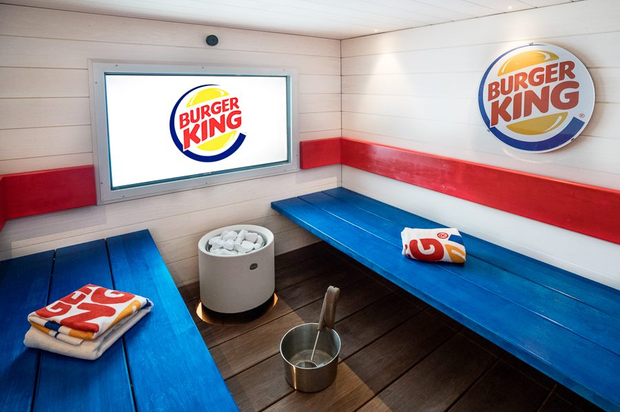 There's a spa inside this Burger King and we can't tell if that's insane or awesome