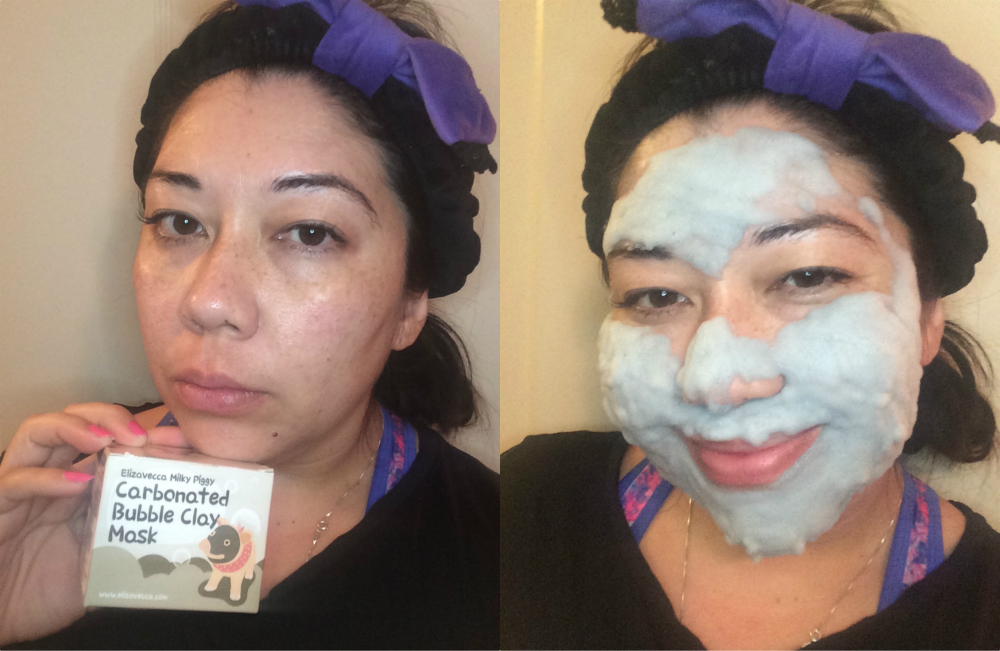 This carbonated bubble clay mask is about to become your new best friend