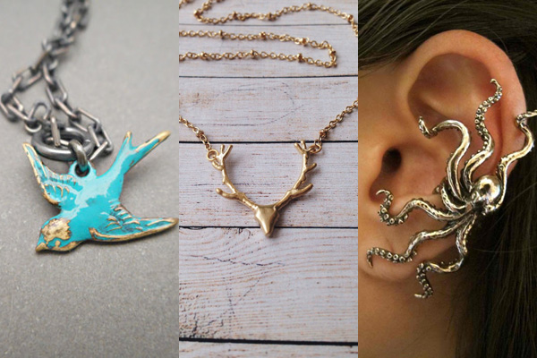 11 pieces of animal jewelry we would wear every day