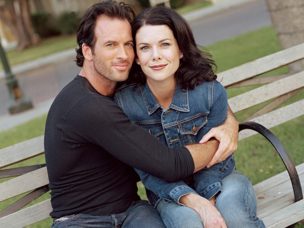 lorelai and luke dating nake
