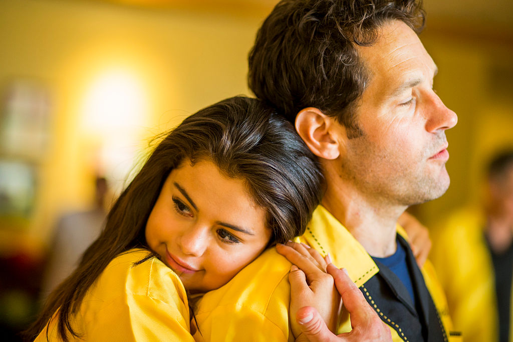 How did we miss that Paul Rudd and Selena Gomez are basically best friends now?