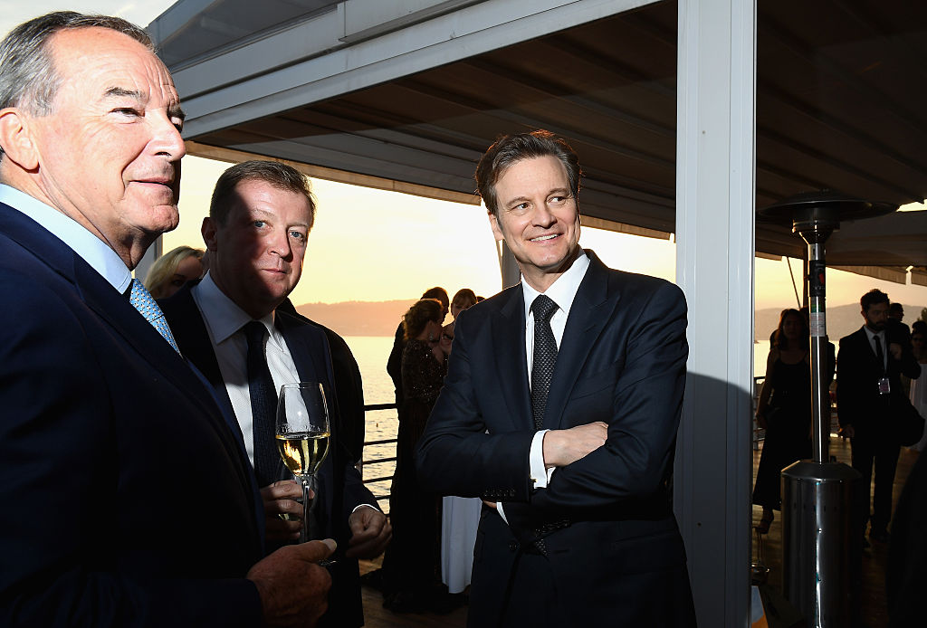 Colin Firth looks dashing AF at Cannes