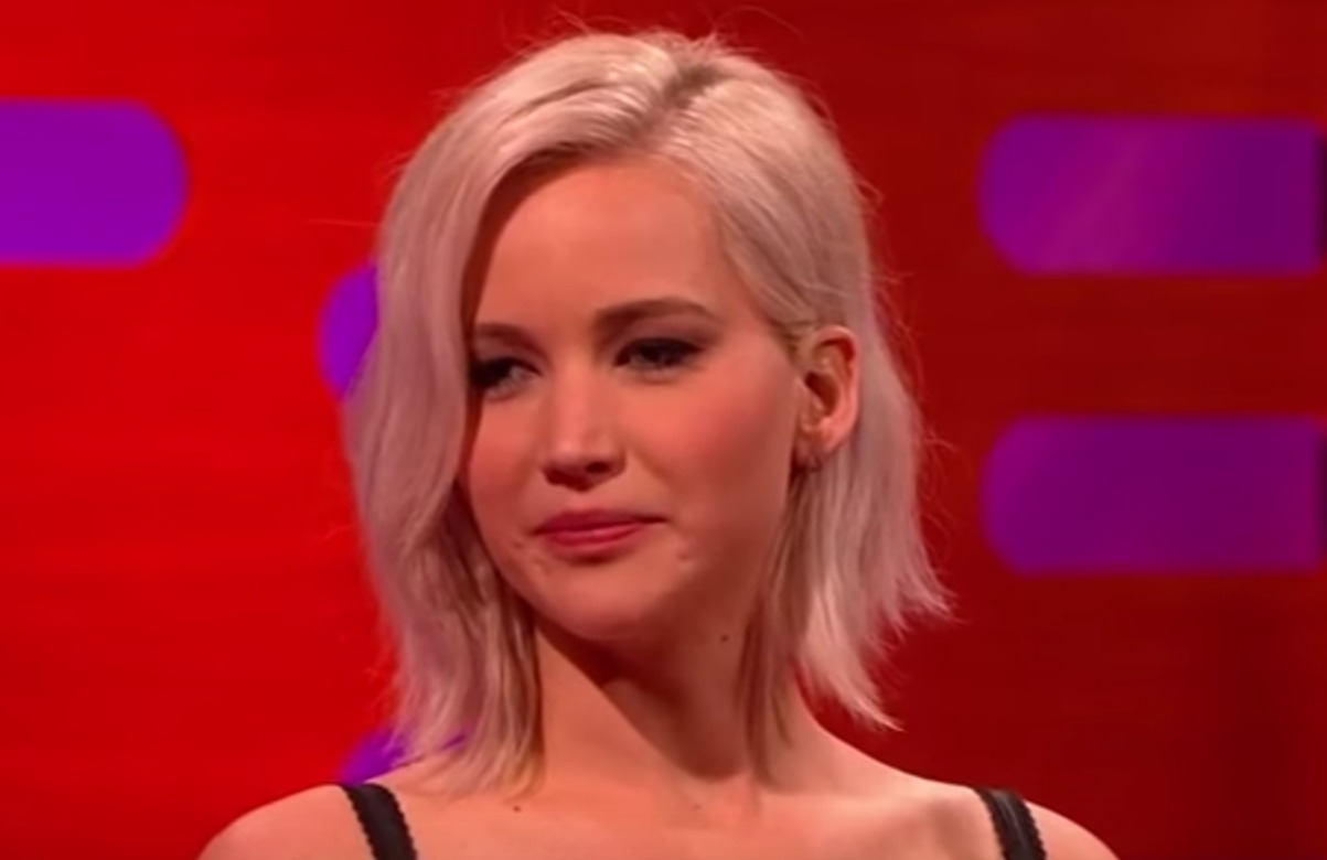"Jennifer Lawrence was sent to a ""tiny jail"" after she got in trouble at the airport"