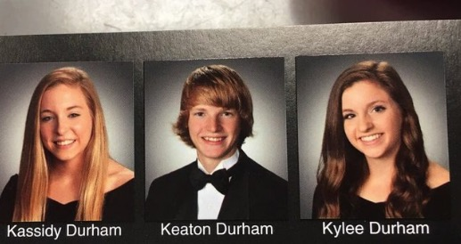 These triplets used their senior yearbook quotes to tell a so-bad-it's-good joke