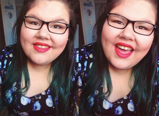 "This teen has the *perfect* response for anyone who says ""you gained weight"""