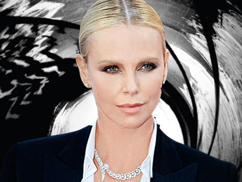 This is what it would look like if Charlize Theron played James Bond