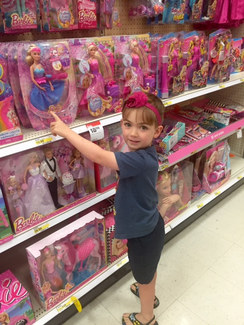 "This mom wrote an open letter to woman who gave her ""the look"" while her son was picking out a Barbie at Target"