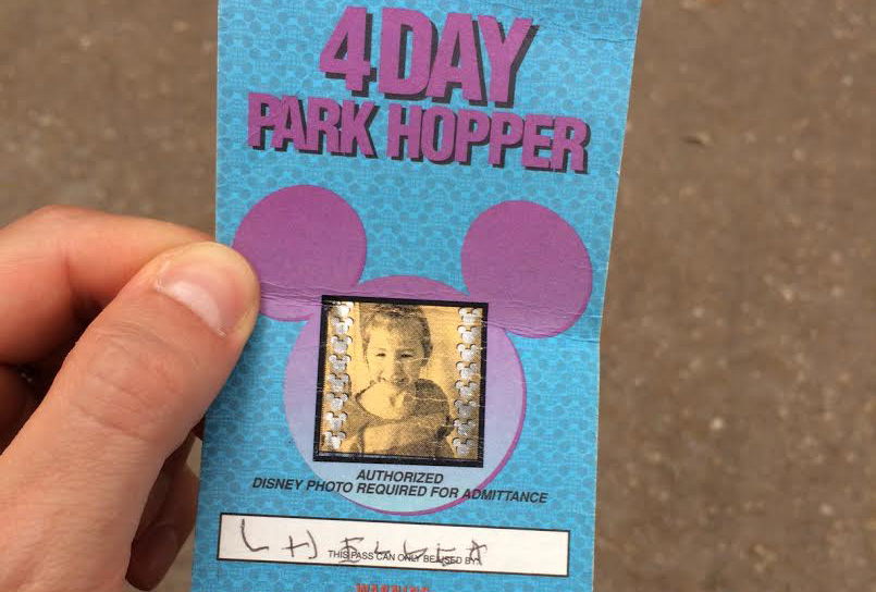 This girl showed up at Disney World with a ticket from 1994 — and they let her in