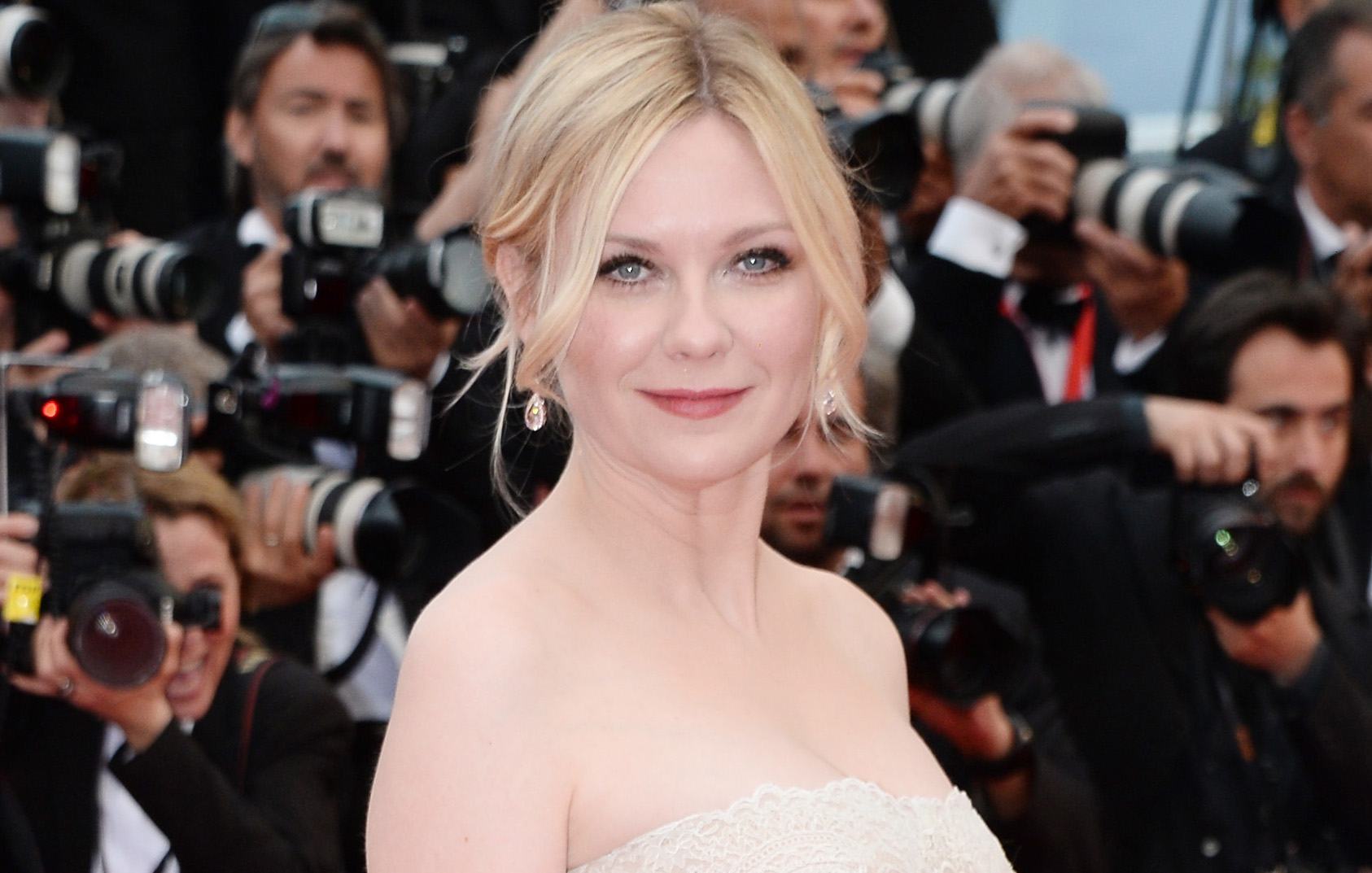 Kirsten Dunst has been almost ridiculously sophisticated at every Cannes event